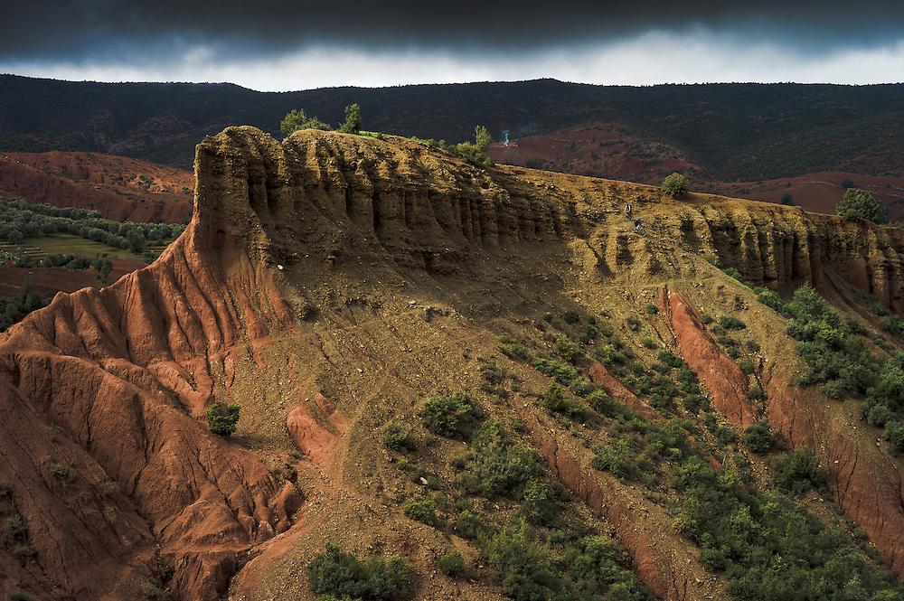 Greg Watts & Jez Wilson, Atlas Mountains, Morocco.