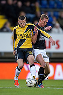 Onderwerp/Subject: NAC Breda - RKC Waalwijk - Eredivisie<br /> Reklame:  <br /> Club/Team/Country: <br /> Seizoen/Season: 2012/2013<br /> FOTO/PHOTO: Mats SEUNTJES (L) of NAC Breda in duel with Robert BRABER (R) of RKC Waalwijk. (Photo by PICS UNITED)<br /> <br /> Trefwoorden/Keywords: <br /> #04 $94 ±1342772543138<br /> Photo- & Copyrights © PICS UNITED <br /> P.O. Box 7164 - 5605 BE  EINDHOVEN (THE NETHERLANDS) <br /> Phone +31 (0)40 296 28 00 <br /> Fax +31 (0) 40 248 47 43 <br /> http://www.pics-united.com <br /> e-mail : sales@pics-united.com (If you would like to raise any issues regarding any aspects of products / service of PICS UNITED) or <br /> e-mail : sales@pics-united.com   <br /> <br /> ATTENTIE: <br /> Publicatie ook bij aanbieding door derden is slechts toegestaan na verkregen toestemming van Pics United. <br /> VOLLEDIGE NAAMSVERMELDING IS VERPLICHT! (© PICS UNITED/Naam Fotograaf, zie veld 4 van de bestandsinfo 'credits') <br /> ATTENTION:  <br /> © Pics United. Reproduction/publication of this photo by any parties is only permitted after authorisation is sought and obtained from  PICS UNITED- THE NETHERLANDS