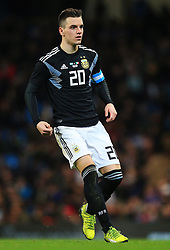 Giovano Lo Celso of Argentina - Mandatory by-line: Matt McNulty/JMP - 23/03/2018 - FOOTBALL - Etihad Stadium - Manchester, England - Argentina v Italy - International Friendly