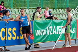 Pole Vault athlets at athletics meeting Ljubljana Grand Prix 2010 for 5th Memorial Matic Sustersic and Patrik Cvetan on August 29, 2010, in Ljubljana, Slovenia. (Photo by Matic Klansek Velej / Sportida)