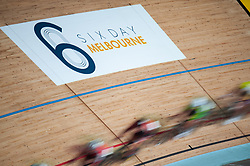 February 7, 2019 - Melbourne, VIC, U.S. - MELBOURNE, AUSTRALIA - FEBRUARY 07: Cyclists race during the Talent Cup at The Six Day Cycling Series on February 07, 2019, at Melbourne Arena in Melbourne, Australia. (Photo by Speed Media/Icon Sportswire) (Credit Image: © Speed Media/Icon SMI via ZUMA Press)