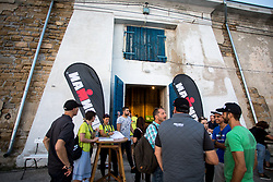 at pasta party before Ironman 70.3 Slovenian Istria 2018, on September 21, 2018 in Salt storage, Bernardin Slovenia. Photo by Matic Klansek Velej / Sportida