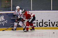 Ishockey , Get - ligaen <br /> 19.11.09 <br /> Kristins Hall<br /> Lillehammer I.K  v   Lørenskog IK<br /> <br /> Foto:Dagfinn Limoseth  -  Digitalsport<br /> Ian Macneil   , Lørenskog  og Stefan Sjødin , Lillehammer