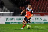 Morgan SANSON - 21.03.2015 - Evian Thonon / Montpellier - 30eme journee de Ligue 1 -<br />Photo : Jean Paul Thomas / Icon Sport