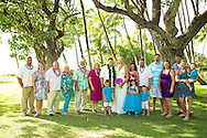 Nicole and Tyler's beautiful beach wedding in Hawaii