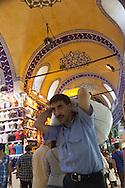 Turkey. Istambul. daily life in the bazaar of Istanbul