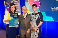 27/01/2014 SCCUL Enterprise Award<br /> Consumer Goods &amp; Services<br /> (Businesses over 3 Years)<br /> Winner<br /> Yourells<br /> <br /> <br /> The Winner of the SCCUL Enterprise Award for Consumer Goods &amp; Services (open to businesses in existence over 3 years) is one of the most established names in Galway. <br /> In business for over 30 years it was taken over in 2005 by two enterprising women. In the past 9 years the business has gone from strength to strength and last year they set up a new blog and opened a second premises in Moycullen. <br /> They have won a number of awards- including the SCCUL Entrepreneurship Award for Professional Services in 2011.<br /> Winner of Connacht Salon of The Year at the 2012 Schwarzkopf Professional Irish Hairdressing Business Awards, the Winner of the SCCUL Enterprise Award for Consumer Businesses open to Businesses over 3 years is Yourells. <br /> Carol Joyce and Anna Forde recieved their prize from Paddy O'Donnell SCCUL.<br /> Photo:Andrew Downes