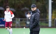 BILTHOVEN - coach Pasha Gademan (Almere) tijdens de competitiewedstrijd heren,  SCHC-Almere (3-2) . COPYRIGHT KOEN SUYK