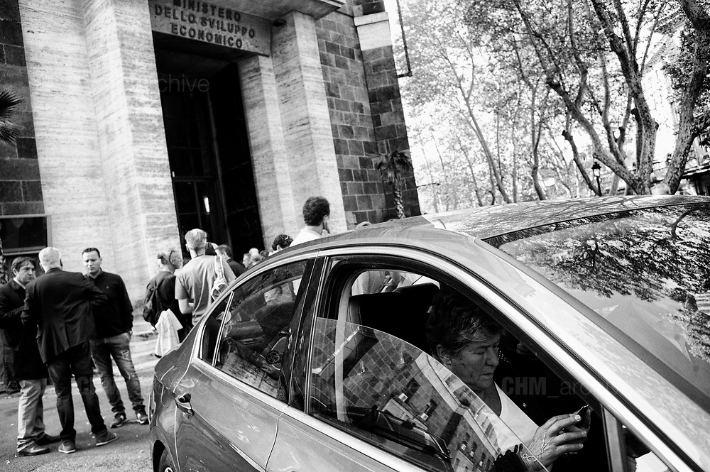 Susanna Camusso at the Ministry of Economic Development after the meeting  with Alitalia trade unions. Rome 12 October 2018. Christian Mantuano / OneShot
