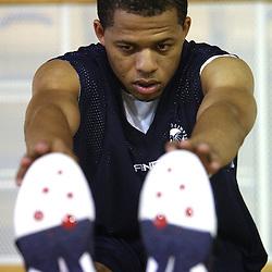 20080821: Basketball - Practice of Union Olimpija