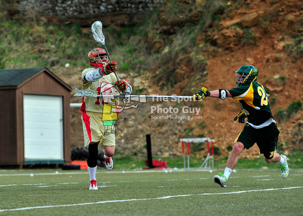 NCAA Men's Lacrosse: Siena edges VMI on winning goal with 1.7 seconds remaining for 12-11 victory..