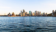 View of Sydney, Circular Quay and Sydney Opera House from Kirribilli.
