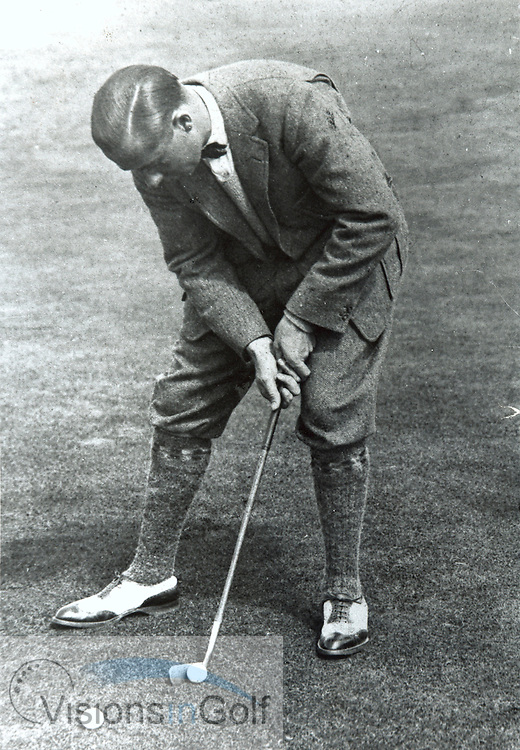 Walter Hagen<br /> Picture Credit: &copy;Visions In Golf / Michael Hobbs