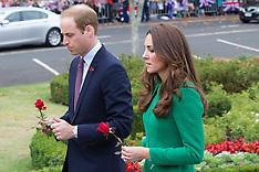 Cambridge - Royal Visit - War Memorial
