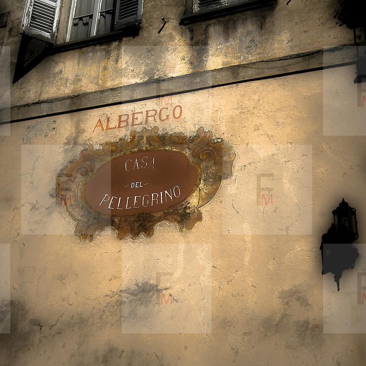 L'albergo del Sacro Monte di Varallo..The hotel of The Sacro Monte of Varallo