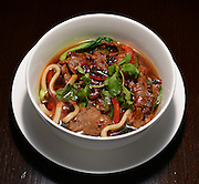 Spicy Shredded Beef Noodle Soup served at Tang Asian Fusion