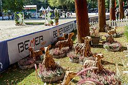 Holzschaafe<br /> Paderborn - OWL Challenge 5. Etappe BEMER Riders Tour 2019<br /> Impressionen am Rande<br /> 14. September 2019<br /> © www.sportfotos-lafrentz.de/Stefan Lafrentz