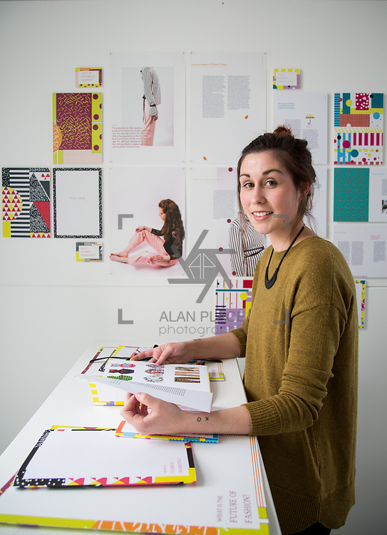 31.05.2017      <br /> Limerick School of Art and Design, LSAD Graduate Show Feature.<br /> Pictured is Sarah Nyhan. Picture: Alan Place.