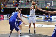 LATINA 27 GIUGNO 2012<br /> BASKET <br /> ITALIA - FINLANDIA<br /> NELLA FOTO GIORGIA SOTTANA<br /> FOTO CIAMILLO