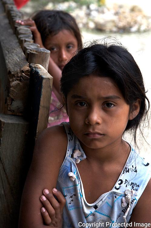Cousins in San Pedro, Guatemala