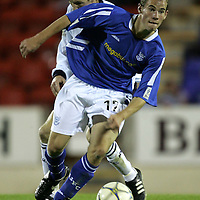 St Johnstone Season 2005-06<br />Kevin Moon<br /><br />Picture by Graeme Hart.<br />Copyright Perthshire Picture Agency<br />Tel: 01738 623350  Mobile: 07990 594431