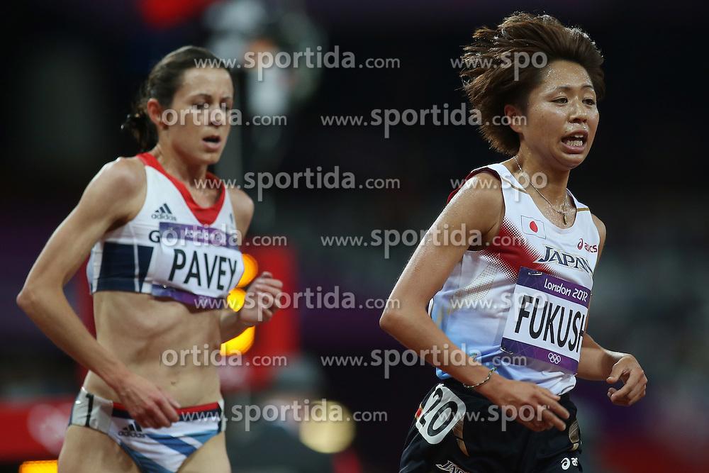 Olympic Games London 2012, women's 10.000m,.Kayoko Fukushi (JPN) .© pixathlon