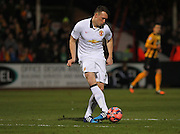 Manchester United's Phil Jones during the The FA Cup match between Cambridge United and Manchester United at the R Costings Abbey Stadium, Cambridge, England on 23 January 2015. Photo by Phil Duncan.