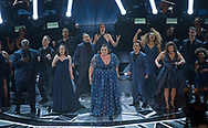Keala Settle performs during the live ABC Telecast of The 90th Oscars&reg;<br /> 04.03.2018; Hollywood, USA: OSCAR TELECAST<br /> for the 90th Annual Academy Awards at the Dolby&reg; Theatre in Hollywood.<br /> Mandatory Photo Credit: AMPAS/Newspix International<br /> <br /> IMMEDIATE CONFIRMATION OF USAGE REQUIRED:<br /> Newspix International, 31 Chinnery Hill, Bishop's Stortford, ENGLAND CM23 3PS<br /> Tel:+441279 324672  ; Fax: +441279656877<br /> Mobile:  07775681153<br /> e-mail: info@newspixinternational.co.uk<br /> Usage Implies Acceptance of Our Terms &amp; Conditions<br /> Please refer to usage terms. All Fees Payable To Newspix International