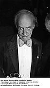 Saul Bellow. National Book Foundation Awards. Plaza Hotel . New York. 27 November 1990. Film 90992f29<br />© Copyright Photograph by Dafydd Jones<br />66 Stockwell Park Rd. London SW9 0DA<br />Tel 0171 733 0108