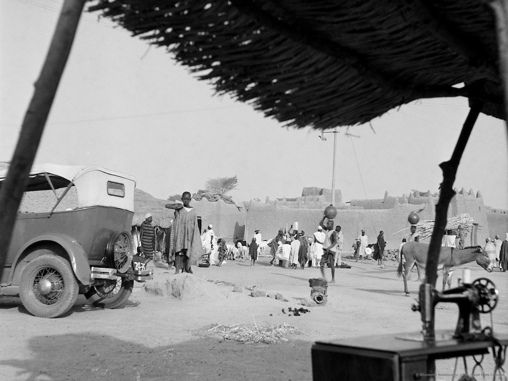 Life Outside the City Walls, Kano, Nigeria, Africa, 1937