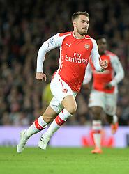 Arsenal's Aaron Ramsey - Photo mandatory by-line: Alex James/JMP - Mobile: 07966 386802 - 22/11/2014 - Sport - Football - London - Emirates Stadium - Arsenal v Manchester United - Barclays Premier League