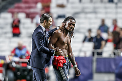 September 19, 2018 - Na - Lisbon, 19/09/2018 - Sport Lisboa e Benfica received the Fu√üball-Club Bayern München tonight at the Luz stadium in Lisbon in the first game of the 2018/19 Champions League group stage. Niko Kovac; Renato Sanches  (Credit Image: © Atlantico Press via ZUMA Wire)