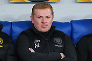 Celtic head coach Neil Lennon on the bench during the UEFA Europa League, Group E football match between SS Lazio and Celtic FC on November 7, 2019 at Stadio Olimpico in Rome, Italy - Photo Federico Proietti / ProSportsImages / DPPI