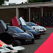 Mclaren display at the 2018 Grand Prix Ball held at The Hurlingham Club on July 4, 2018 in London, England.