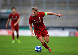 ST HELENS, ENGLAND - Monday, December 10, 2018: Liverpool's Paul Glatzel during the UEFA Youth League Group C match between Liverpool FC and SSC Napoli at Langtree Park. (Pic by David Rawcliffe/Propaganda)