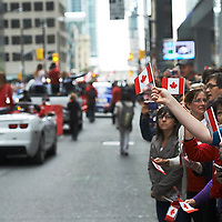 Canada's Olympic Parade, Toronto ON Sept 21, 2012