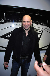 DANA WHITE the current President of the Ultimate Fighting Championship at a private view of Octagan a showcase of work of photographer Kevin Lynch featuring the stars of the Ultimate Fighter Championship held at Hamiltons gallery, Mayfair, London on 17th January 2008.<br />