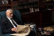 Venezia - Comunità ebraica di Venezia. Shalom Bahbout, rabbino capo della Comunità. The rabbish of the venetian community.