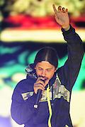 MC BROW, DANIEL MONTECINOS, MUSICO CHILENO INTEGRANTE DE LA BANDA DE DANCEHALL SHAMANES CREW. (©Alvaro de la Fuente/Triple.cl)