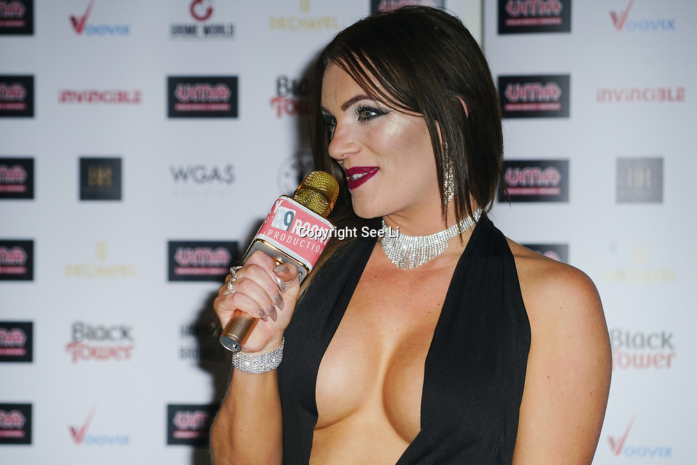 London, England, UK. 30th November 2017. Cece Bright is a Presenter attends the Urban Music Awards at Porchester Hall, London, UK.