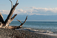 Camping along the Juan de Fuca trail includes beautiful ocean view spots like this at French Beach.