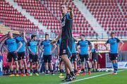 ALKMAAR - 24-08-2016, training AZ, AFAS Stadion, Niels Kok.