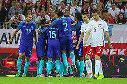 01-06-2016 POL: Polen - Nederland, Gdansk<br /> Oefenwedstrijd dat met 2-1 wordt gewonnen / Georginio Wijnaldum (NED) scoort de 2-1<br /> <br /> ***NETHERLANDS ONLY***