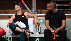 May 22, 2019 - Paris, France - Elina Svitolina of the Ukraine during practice at the 2019 Roland Garros Grand Slam tennis tournament (Credit Image: © AFP7 via ZUMA Wire)