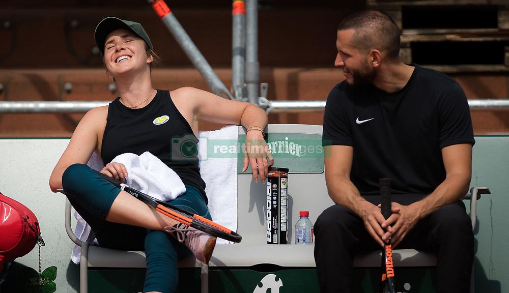 May 22, 2019 - Paris, France - Elina Svitolina of the Ukraine during practice at the 2019 Roland Garros Grand Slam tennis tournament (Credit Image: © AFP7 via ZUMA Wire)