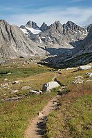 Titcomb Basin Trail, Bridger Wilderness, Wind River Range Wyoming