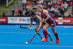 Hollie Pearne-Webb of Great Britain Women during the 2019 Women's FIH Pro League match at Lee Valley Hockey Centre, Stratford<br /> Picture by Simon Parker/Focus Images Ltd <br /> 18/05/2019