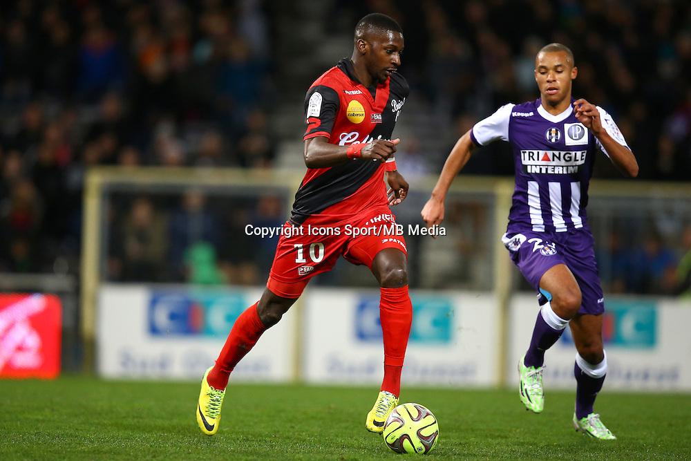 Younousse Sankhare - 20.12.2014 - Toulouse / Guingamp - 17eme journee de Ligue 1 <br />Photo : Manuel Blondeau / Icon Sport