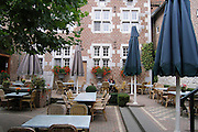 Belgium, An outdoor cafe