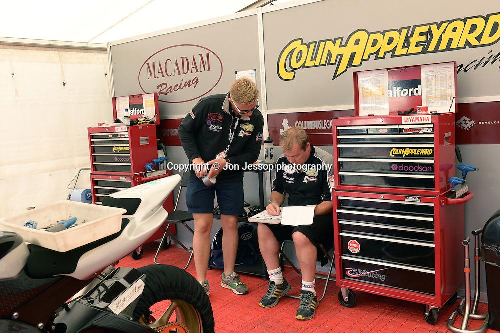 #55 Harry Hartley Appleyard/Macadam & Doodson Yamaha Motorpoint British Superport